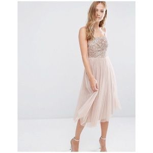 ASOS Maya cami strap midi dress tulle skirt